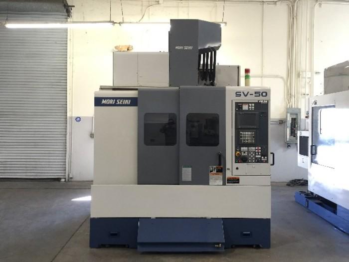 Mori Seiki SV-50/40 Cnc Vertical Machining Center