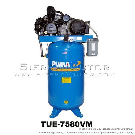 PUMA 7.5 HP Commercial 3-phase Air Compressor TUE-7580VM3