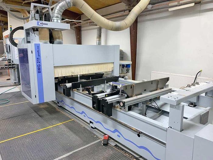 2015 WEEKE CNC machine center Weeke PROFI BMG 211/45/15/AP