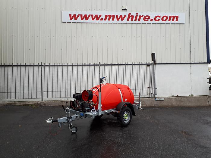 Used Taskman BW200 DY15E TRAILER BOWSER DIESEL WASHER