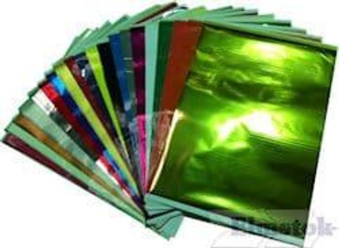 Omnicrom Colour Transfer A4 Metallic Foils Mixture Pack (100)