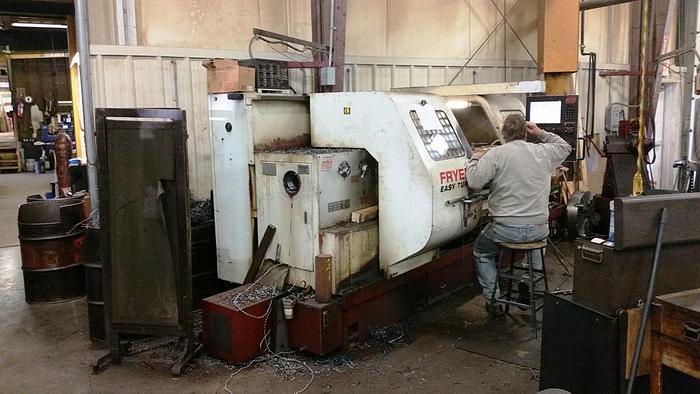 "Used 2004 Fryer CNC Lathe, Model ET 30 CNC, 30"" Swing, 120"" B/C, 1500 rpm, 30 hp"