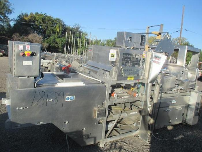 Used Ross INPACK, Md# 3320, Modified Atmosphere Pre-Formed Tray Packager