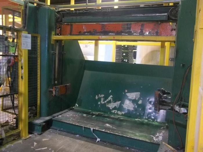 "Used ROLL SPLITTER  68"" DIA. X 72"" FACE SANDY HILL OSCILLATING"