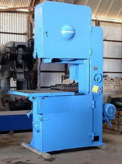 "Used 36"" Tannewitz Model G1NE (Left-Hand) Vertical Band Saw; Mfg. 1985; S/N 85085"