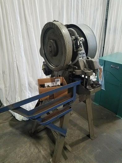 Used Batemen Bantam 4748-B Ironworker Machine Steel Fabrication with tooling