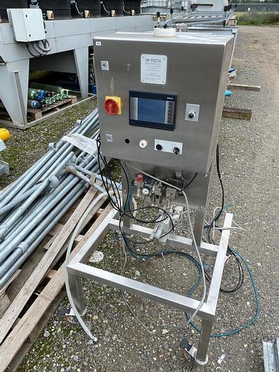 Used Hi-Tech Machinery Ltd Keymac Control Filler System