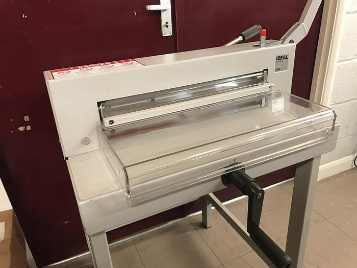 Used Fully Serviced IDEAL 4205 Tabletop Manual Guillotine Paper Cutter