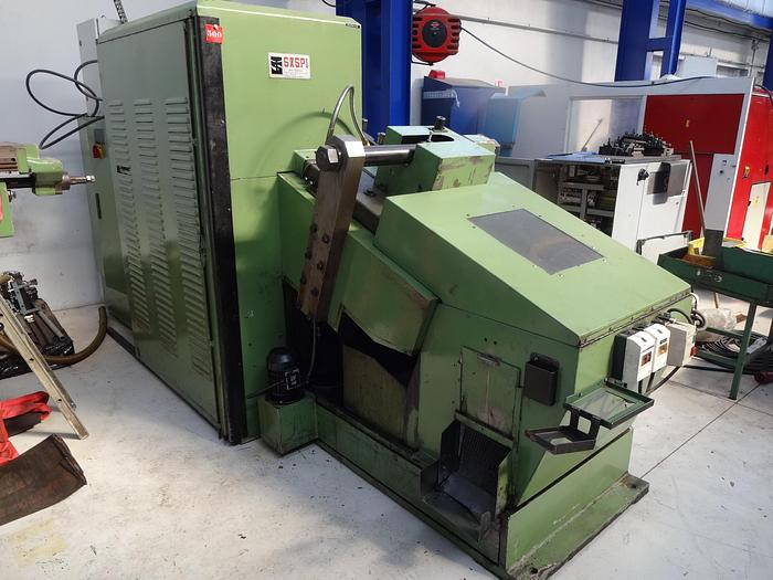 D'occasion SASPI GV5-40 Rouleuse à peignes plats / Thread rolling machine