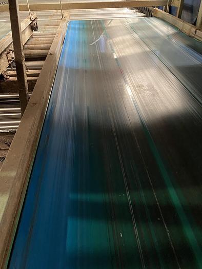 Used Steel Conveyor belt 6m L 1.15m W