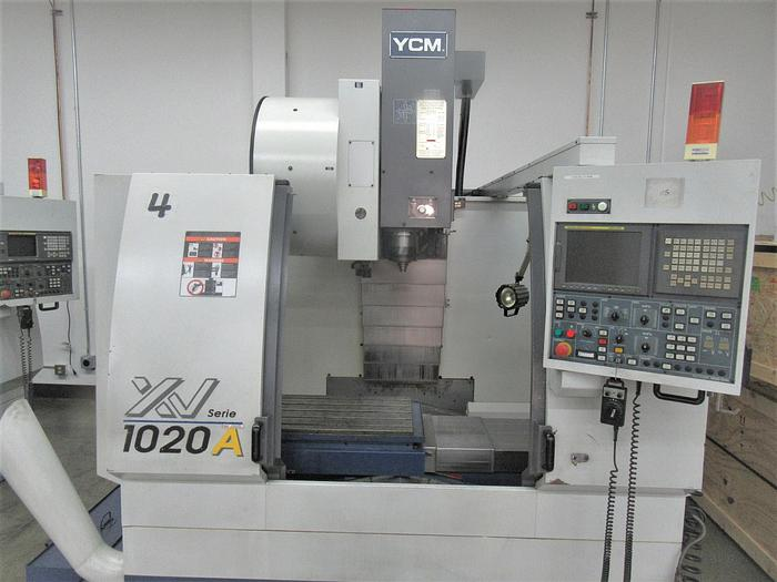 Used 2006 YCM XV1020A Vertical Machining Center