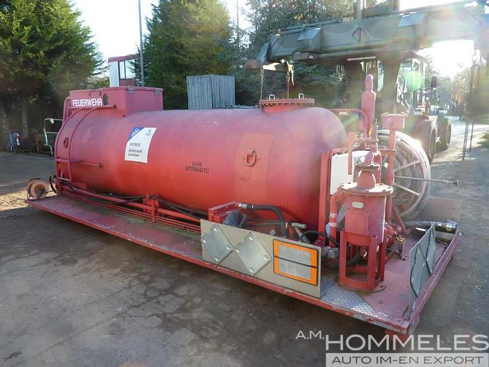 Used Rietberg chemical clean-up unit