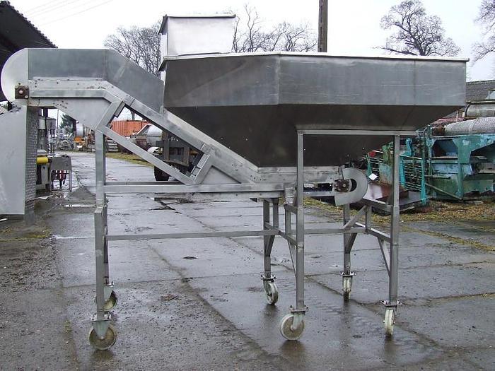 Używane Bunkier z modułowym przenośnikiem progowym