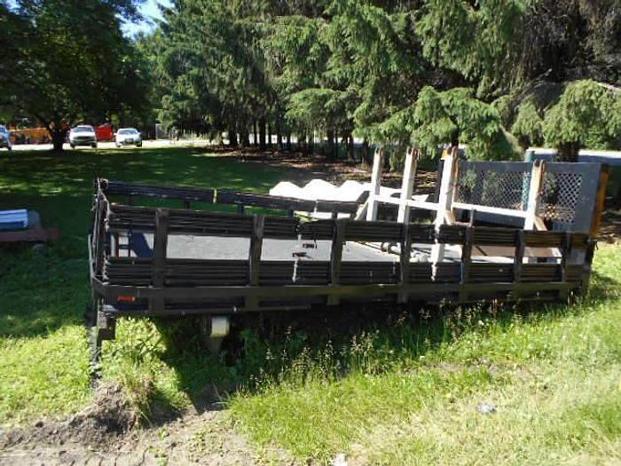 Used 14ft. Flatbed w/ Stake Racks