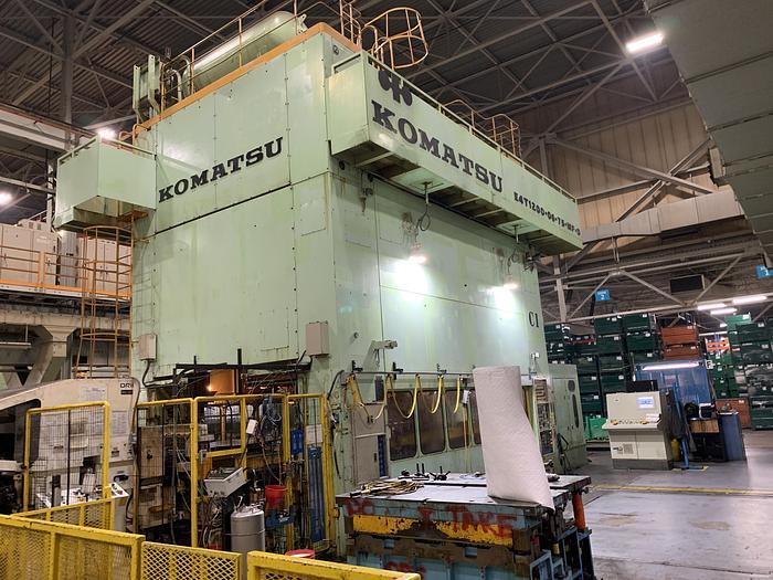 Used 1200 ton Komatsu Stamping Press