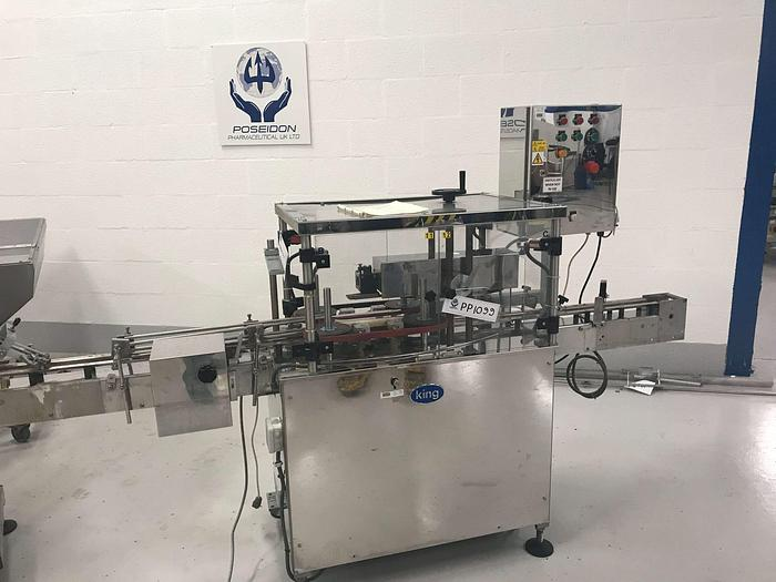 Used KING Capping Machine ISEC 150