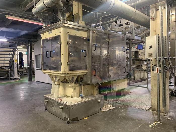 Used 1998 ACMA 752 Carton Filler