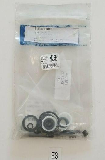 *NEW IN BAG* GRACO 563906 PNEUMATIC PUMP SEAL KIT REPAIR KIT FOR HL-25 -WARRANTY