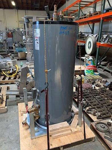 Raypack Hydronic Hot Water Boiler Model Hi Delta H3-HD301 with 80 gal Storage Tank