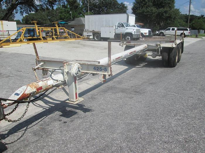 Used 1979 30' Pole Carrier Trailer