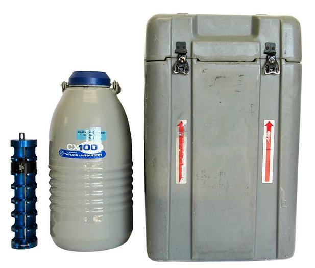 Used Taylor-Wharton CX100B-11M Cryo Express Liquid Nitrogen Vessel,CP-111-065 (8068)w