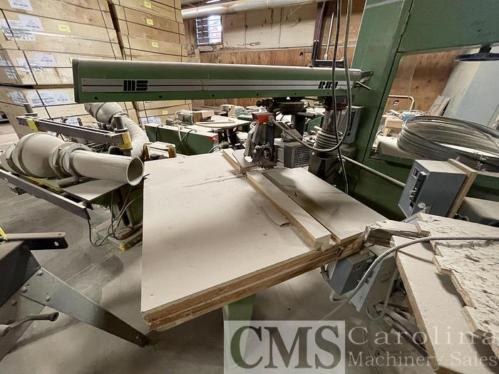 Used MS R80 Radial Arm Saw