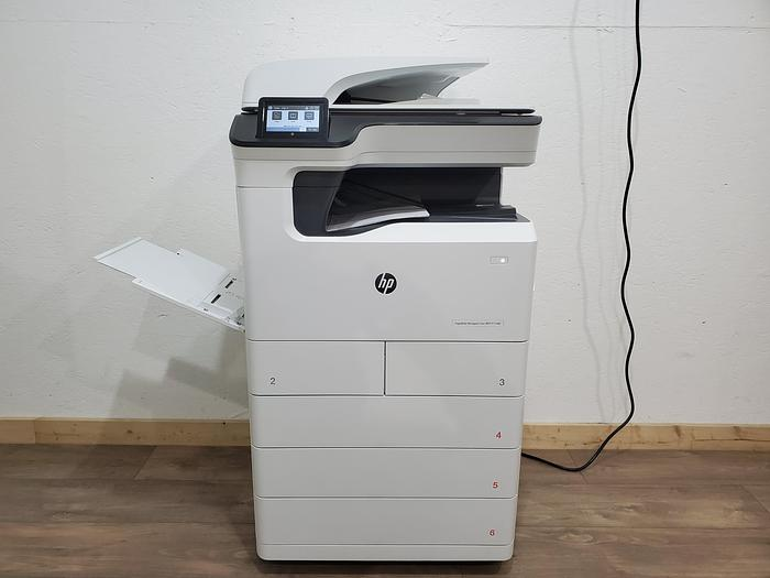 Used HP PageWide P77440 Full Color Inkjet Printer. Only 70K Meter!