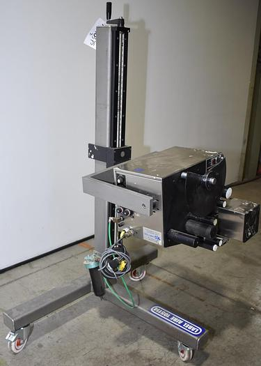 Used Label-Aire  2111M Air Blow Labeler
