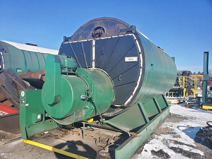 Used 750 HP  Steam Boiler Johnston Boiler Gas Fired 150 Psi