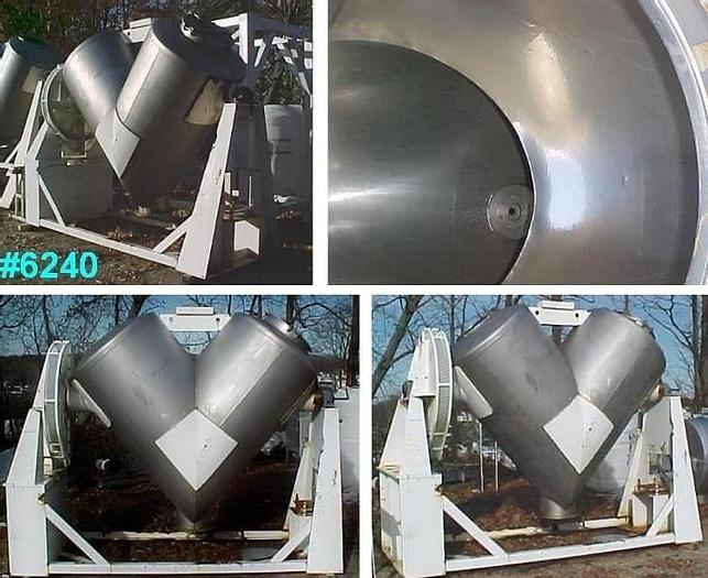 Used 75 CU. FT. P-K TWIN SHELL BLENDER – S/S