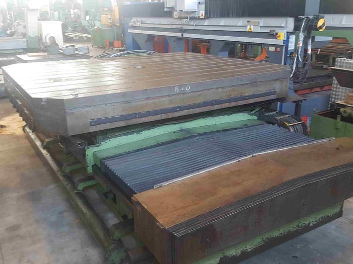 TAVOLA ROTOTRASLANTE PAMA TGS 2530 CNC