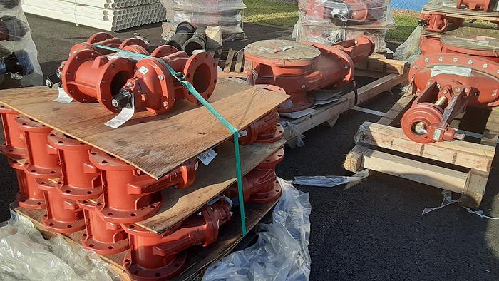 Used Gate Valves Grey Cast Iron Per ASTM A126 Grade B