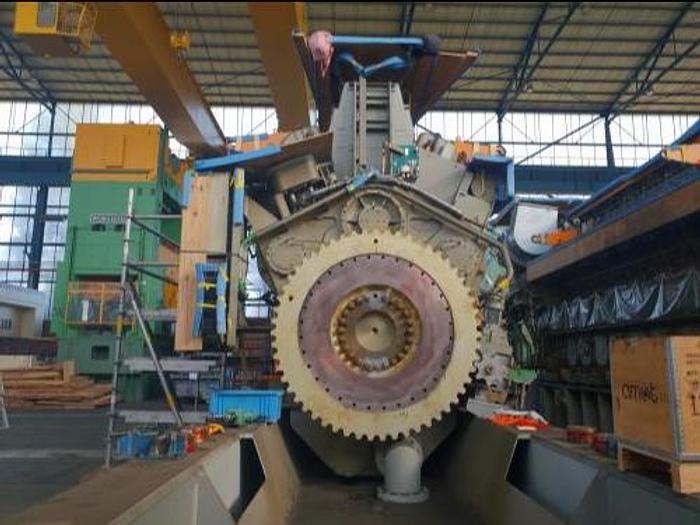 8.75 MW 2015 New MAN 18V32/40 HFO Generator Set