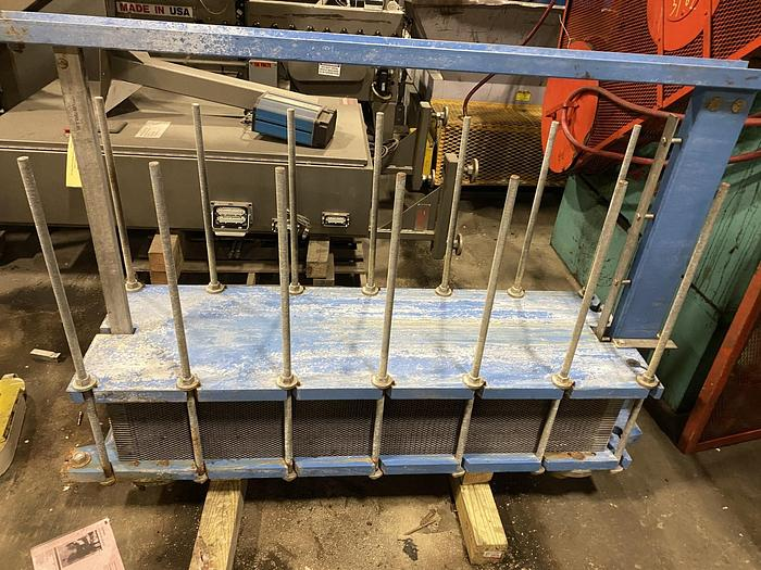 Used SENTRY EQUIPMENT CORP PLATE HEAT EXCHANGER