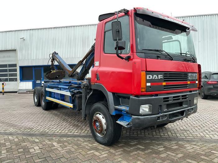 Used 1996 DAF 85 ATI 360 6x4  full steel, euro 2, manual