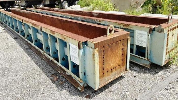 "Used Hamilton 24"" Precast Concrete Pile Forms"