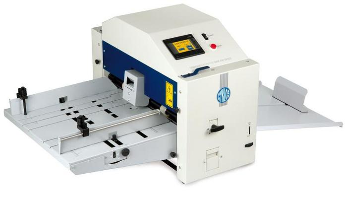 Cyklos GPM 450 Speed. Creasing And Perforating Machine