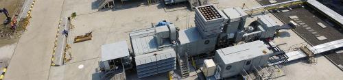 31 MW 2012 Used GE TM2500+G6 Mobile Gas Turbine Generator