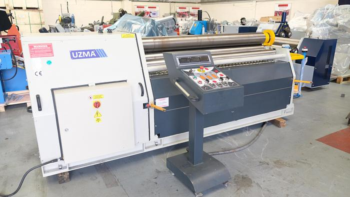 Used UZMA SAHINLER 2050 x 180 4 roll hydraulic bending roller  2018