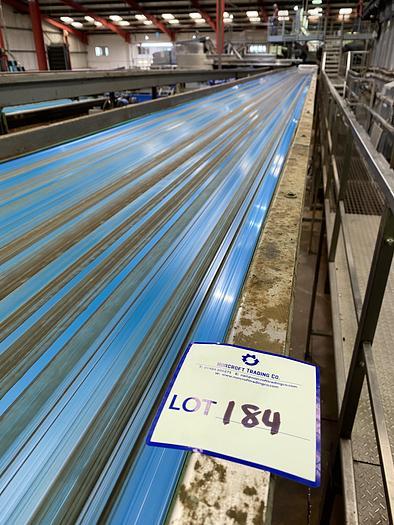 Used Steel Conveyor Belt 24m L 0.9m W