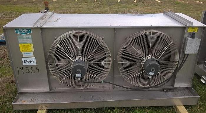 Used McCormack Coil Superfin Ammonia Evaporator; Md#72CB64/26CBAI-X-Q-U-LEFT