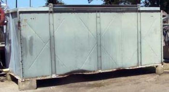 Used Skraplacz natryskowo-wyparny 4-wentylatorowy ze zbiornikiem na czynnik chłodniczy