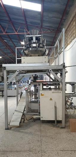 Used BAGGING LINE, vertical form fill seal