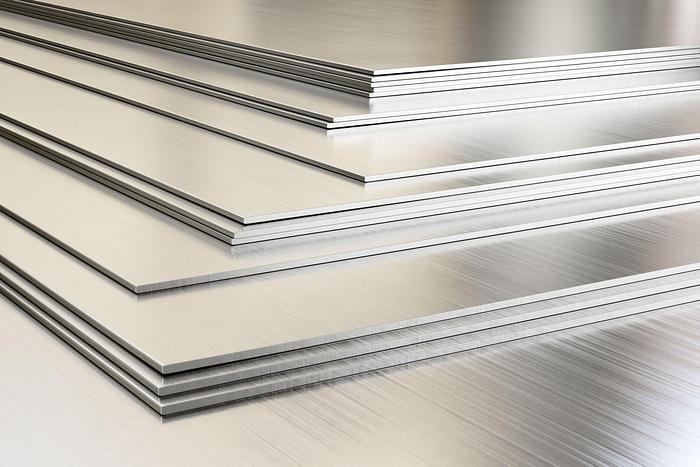 Usato Laminatoio continuo per alluminio a doppio rotolo   1350 mm