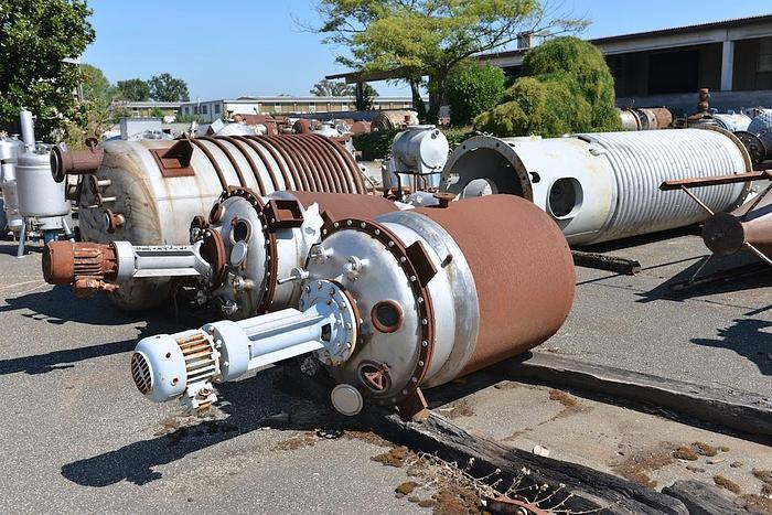 Usata Reattore F.B.M. da 900 Litri