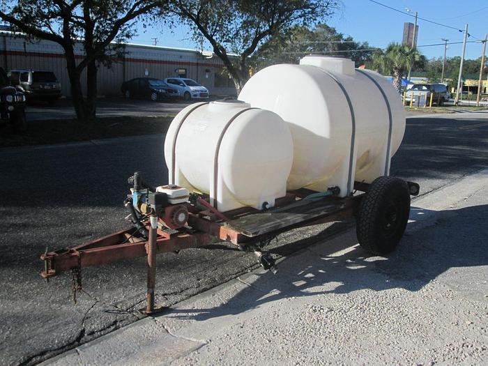 Used 500 Gallon Poly Water Wagon
