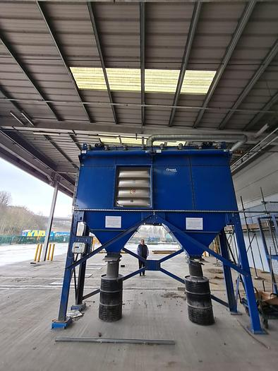 Used CAMFIL FARR GOLD SERIES GS161 DUST COLLECTOR