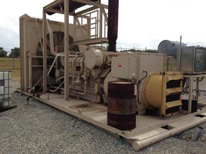 2.25 MW 2004 Used Caterpillar G3516 Natural Gas Generator