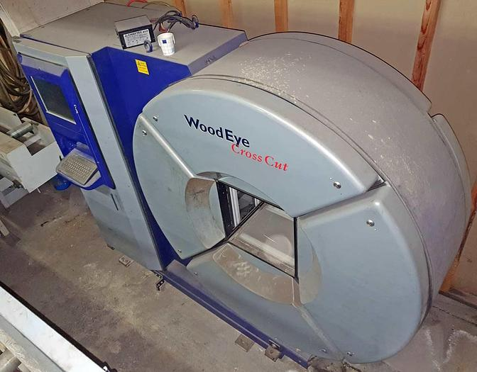 Used Wood EYE  Wood EYE Crosscut Scanner