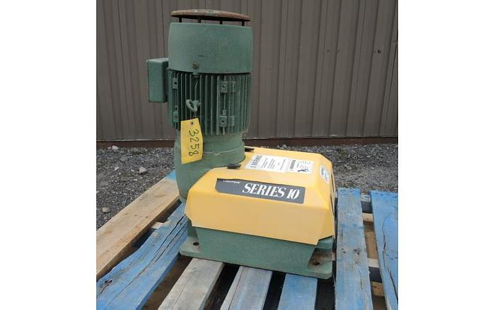 Used USED LIGHTNIN TOP ENTRY MIXER, SERIES 10, 3 HP